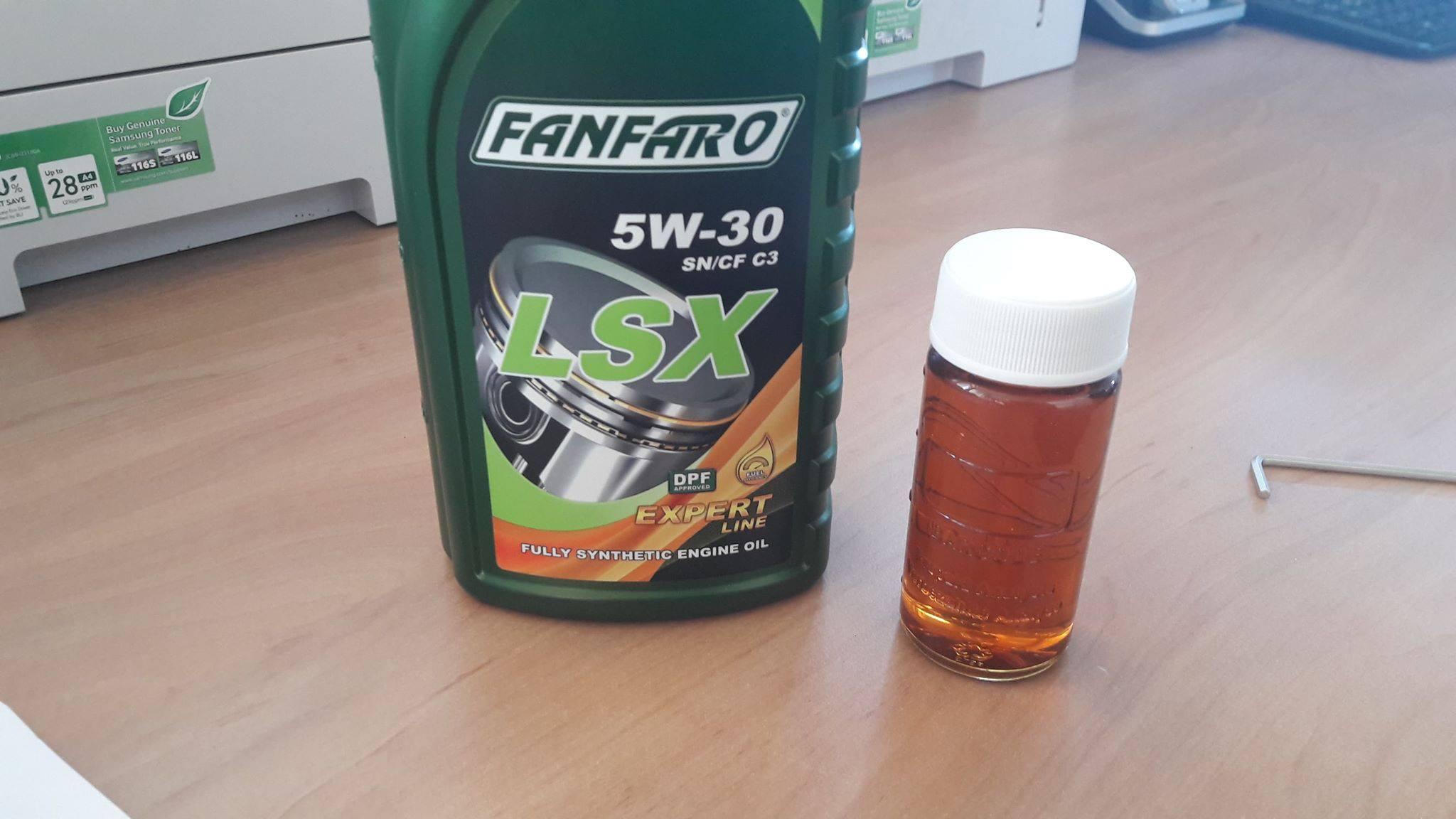 FANFARO LSX 5W-30 API SN/CF