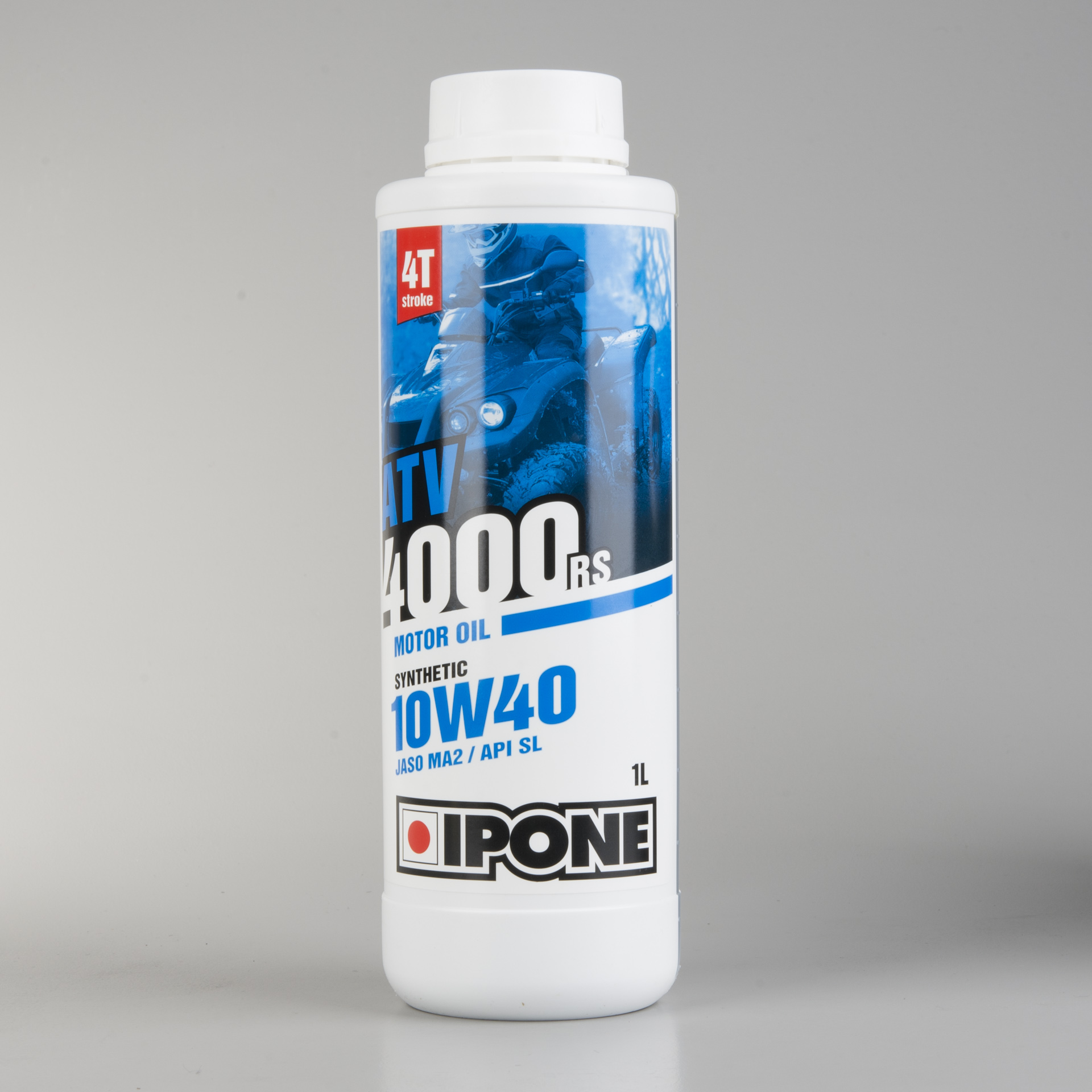 Ipone ATV 4000 RS 10w40 Used Oil Analysis